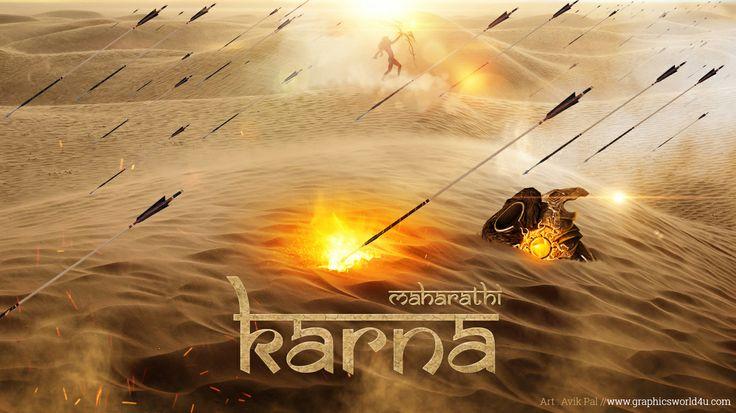 Maharathi Karna From Mahabharat