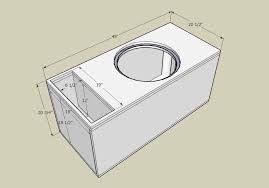 """Képtalálat a következőre: """"subwoofer box design for 12 inch"""""""