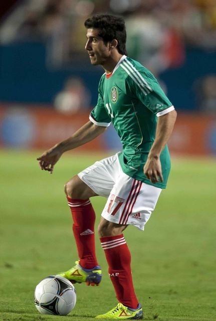 Damián Álvarez debutó con la Selección Mexicana en partido amistoso ante Colombia. www.soytigre.mx