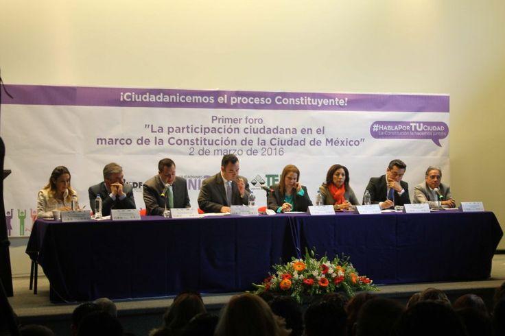 Necesario mantener y fortalecer los derechos ciudadanos en la Constitución de la CDMX