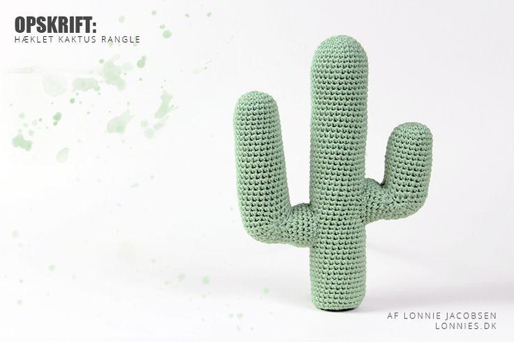 Opskrift: Hæklet Kaktus Rangle