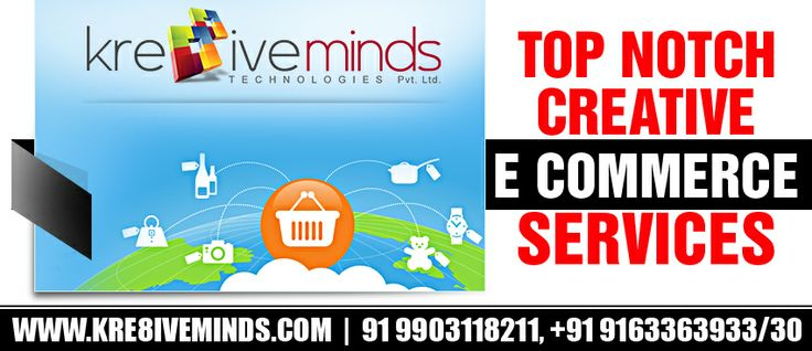 Nothing can get better than this! Kre8iveminds Technologies Pvt. Ltd. brings for you top notch eCommerce service at a price lesser than your expectations! So, what are you waiting for? Hurry and contact http://www.kre8iveminds.com/