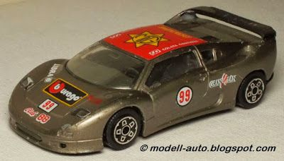 Mein Blog über Modellautos: Bburago