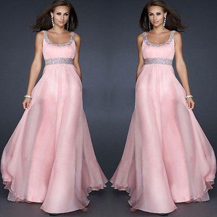 Sexy Women Summer Dress Блестки для Торжеств и Вечеринок Макси Длинные Платья Костюм Летние Розовые Длинные Платья