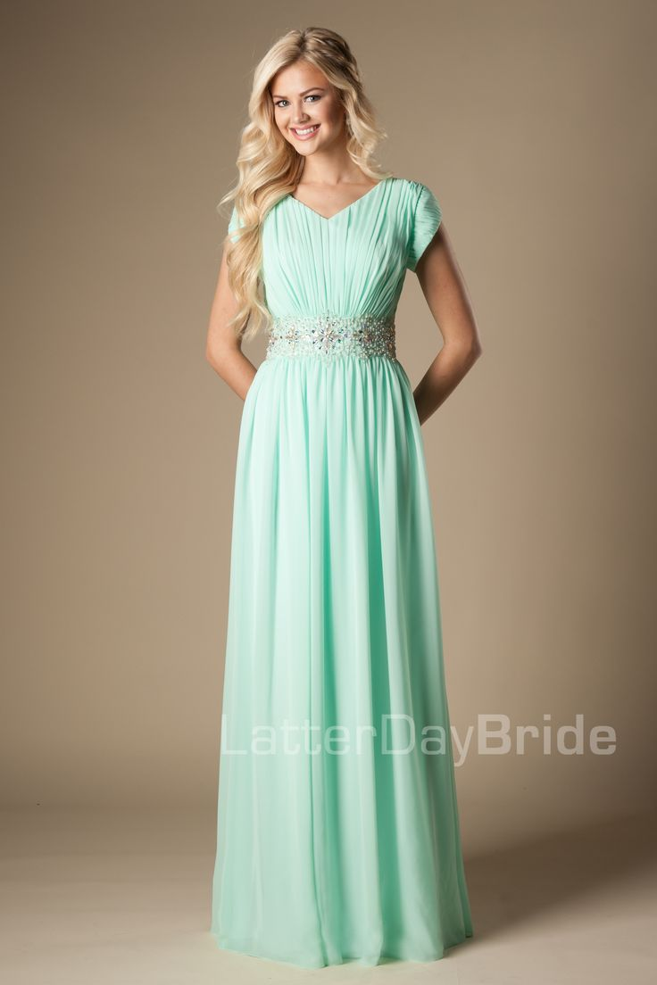 Modest Prom Dresses : Lyla LOVE this dress!