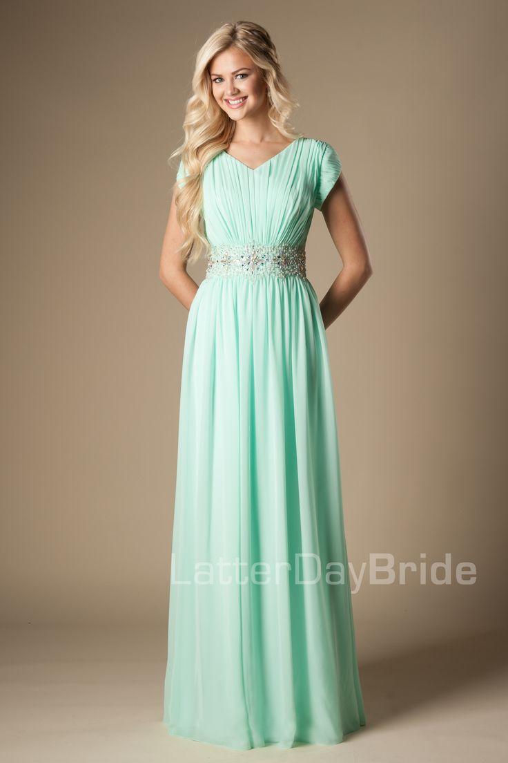 Modest Prom Dresses : Lyla LOVE this dress!