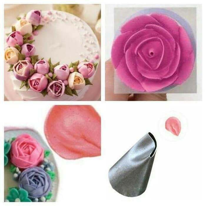 Spuit Mawar Alat Untuk Menghias Kue Harga Murah Menghias Kue Mawar Perhiasan