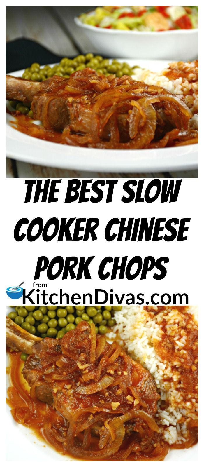 The Best Slow Cooker Chinese Pork Chops takes little time to prepare and the result is fantastic! Just throw everything into your slow cooker and when you return you will have a delicious dinner almost ready to go! All you need to prepare is a vegetable or salad and potato or rice! How easy is that?