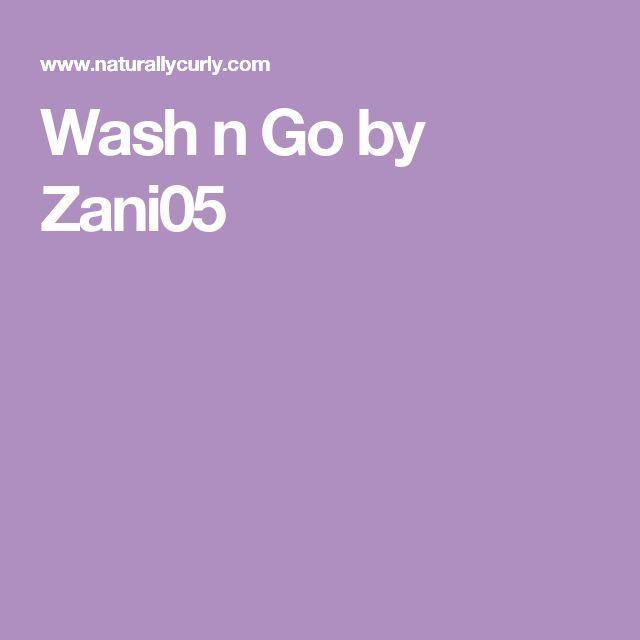 Wash n Go by Zani05