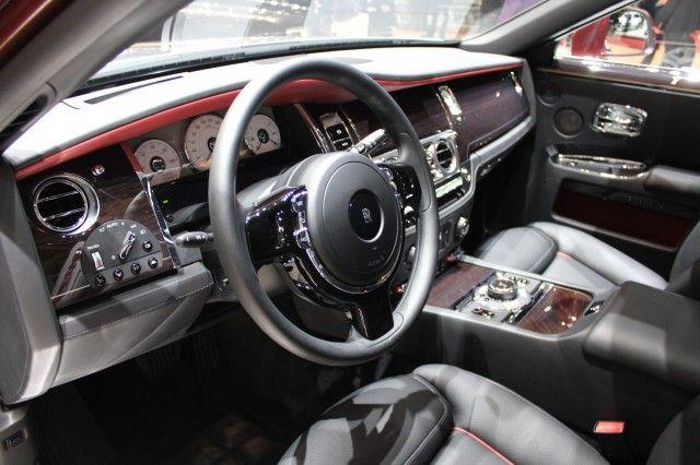 رولز رویس گوست II مدل 2015