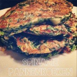 Mijn nieuwe lievelings!! Lees hoe je deze spinazie pannenkoeken maakt op cookensophie.com