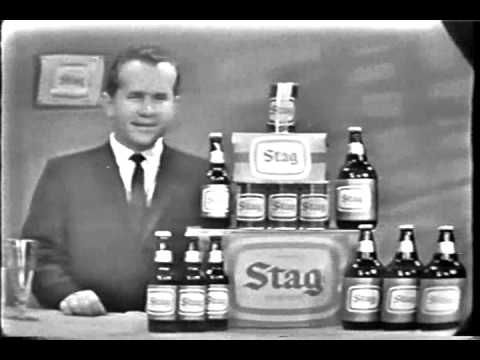 Stag Beer TV Commercial 1960