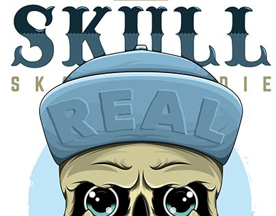 "Check out new work on my @Behance portfolio: ""Old Skulls •Skate•"" http://on.be.net/1ScO7k4"