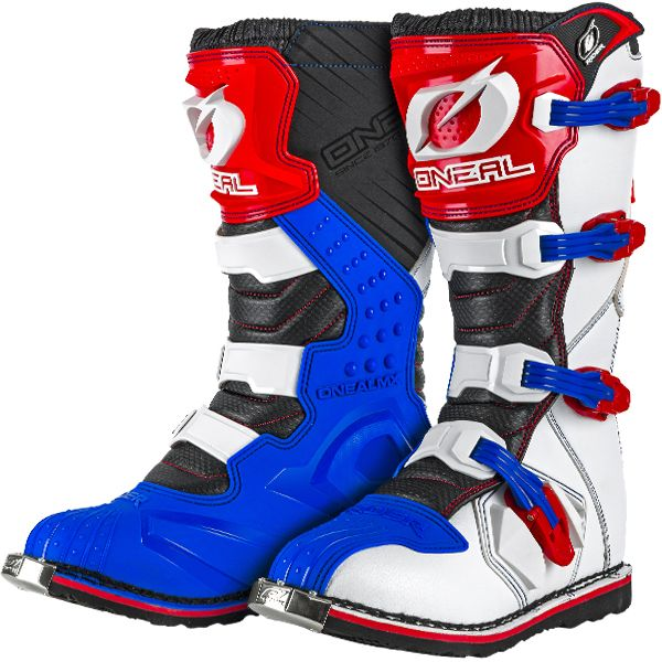2018 ONeal Rider Boots Red White | Rider boots, Dirt bike