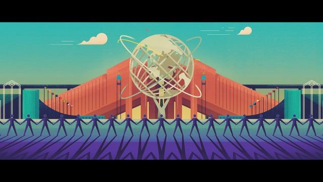I had the opportunity to once again team up with the awesome team at The Academy. Working with Director Colin Hesterly, I brought the stunning designs of Dan Matutina to life and the end result is a beautifully fluid ode to a simpler time; referencing things like The Worlds Fair and Disneyland's World of Tomorrow. Hoping to make the world a better place through the magic of animation, paired with the message of love, I hope you enjoy the result as much as we enjoyed the process.  Credits…