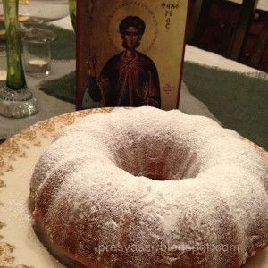 When St. Phanourios Finds Lost Things. Phanouropita Recipe, Lenten Cake.