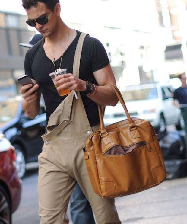 Street Style: Bolsas Masculinas
