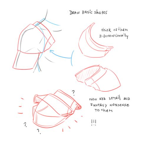 Anonymous said: Teach me how to draw armor!! Pleeaassdee I struggle with this so badly but your armor is always so amazing I just want to see how you make it, show me a tutorial oh my god please i...