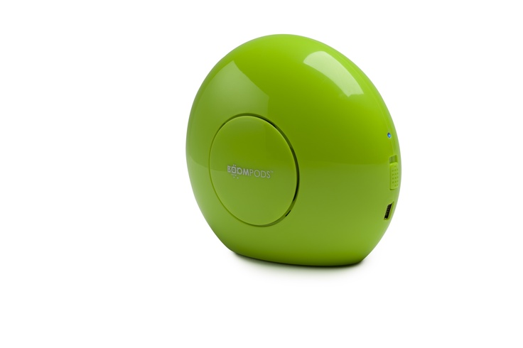 Doubleblaster- Lime Green-Shinny-Bluetooth Speaker
