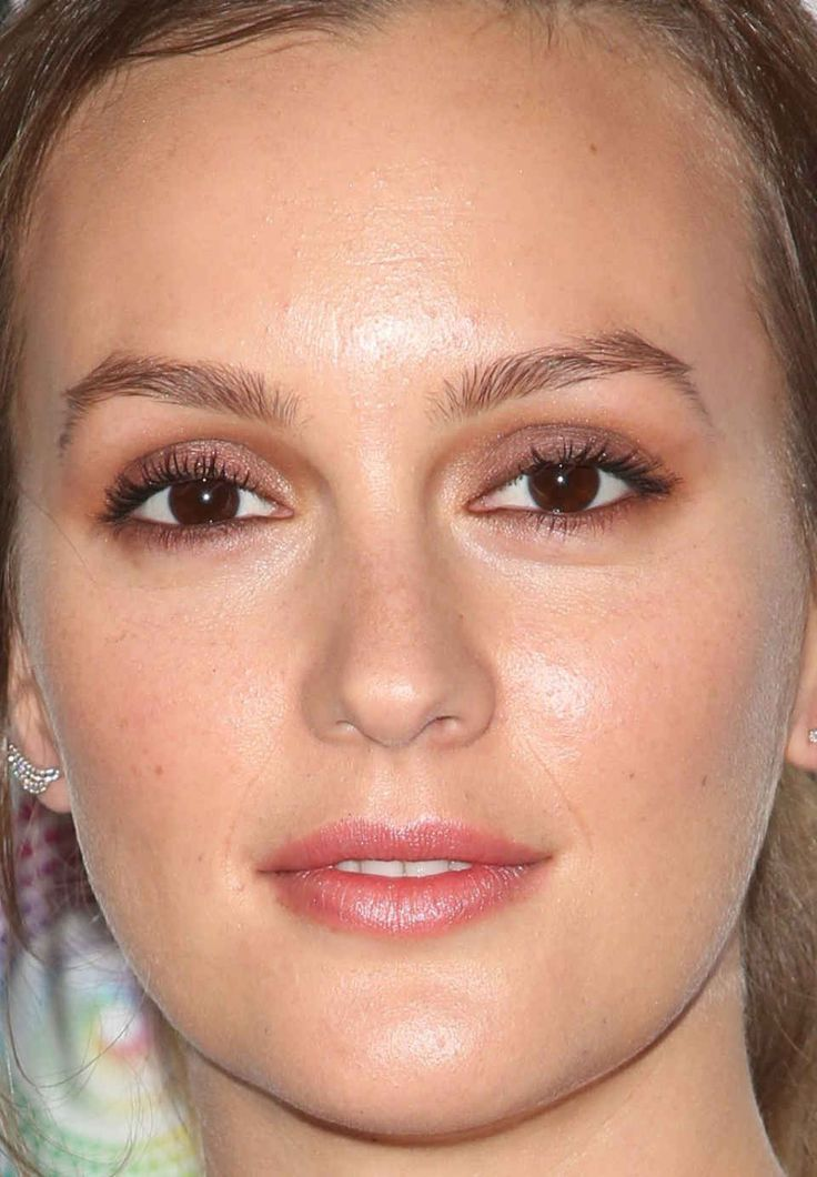 Close-up of Leighton Meester at Entertainment Weekly's 2016 PopFest.