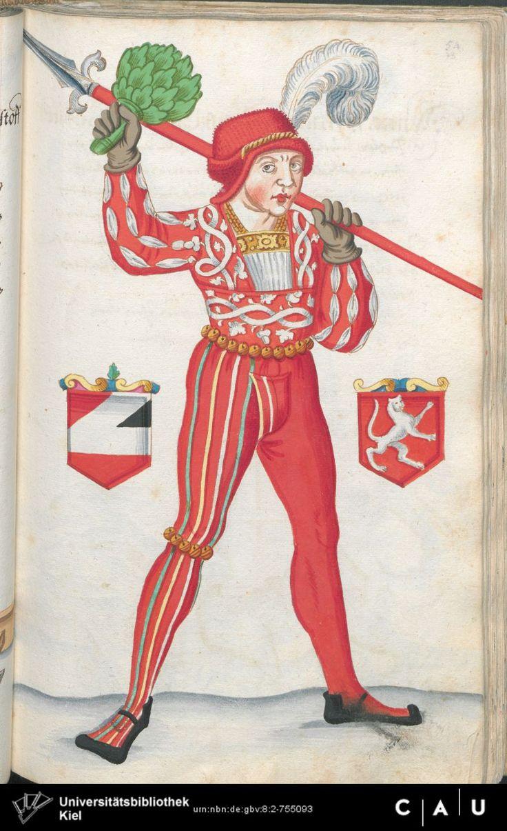 Nürnberger Schembart-Buch Erscheinungsjahr: 16XX  Cod. ms. KB 395  Folio 146