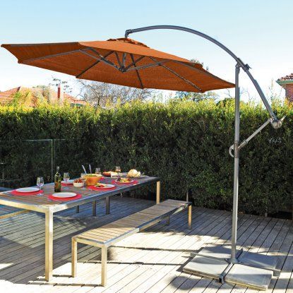Cantilever Patio Umbrella   The Coolaroo 10 Ft. Cantilever Patio Umbrella  Provides Much Needed Shade On Hot Summer Days. This Stylish Patio Umbrellas  ... Amazing Pictures