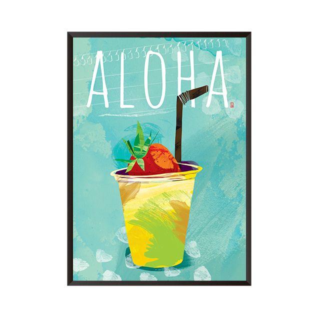 시원함이 풍겨오르는 aloha 봄 여름 인테리어 변신의 꿀입니다