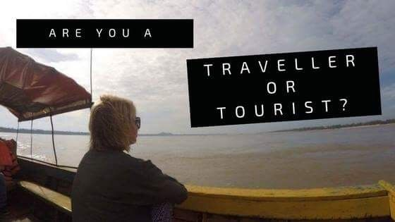Differences between a traveller and a tourist and a personal journey.