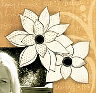 12 Ways to Make Flowers for Scrapbooking and Card MakingLearn How to Make Your Own Flower Scrapbook Embellishments