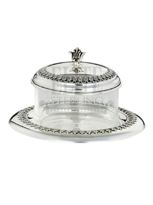 #Filigree #Silver #Honey and #Sugar #Dish ( #Hazorfim )