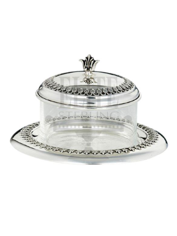 #Filigree #Silver #Honey and #Sugar #Dish ( #Hazorfim )