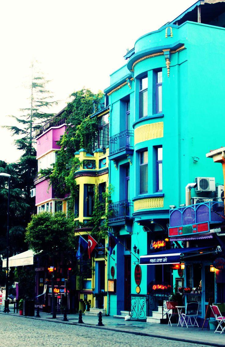 Colorful Street / Sultanahmet,Istanbul....By Senem Öğüt