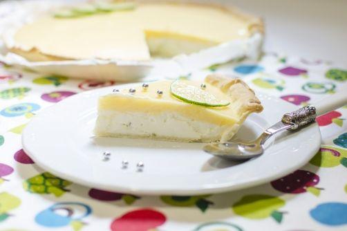 Tarta de queso con glaseado de lima para #Mycook http://www.mycook.es/receta/tarta-de-queso-con-glaseado-de-lima/