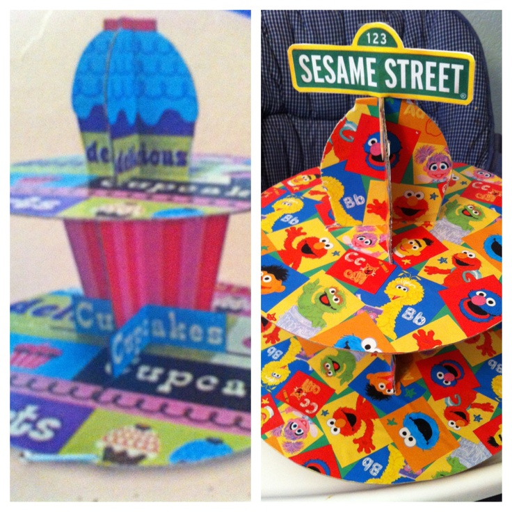 sesame street wrapping paper I used the cricut sesame street – friends cartridge to make: lincoln street sign  i know it's wrapping paper but how did you get it to stay up.