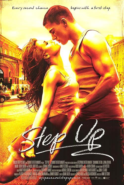 Step Up (2006) - Channing Tatum can dance?  Why yes, yes he can.  And is it a cheesy dance movie?  Yes.  Is predictable?  Yes.  Is it fun and enjoyable?  Yes.  Worth a watch