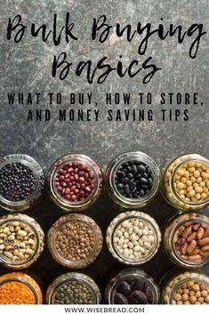 Möchten Sie ein Bulk-Lebensmittelgeschäft zu Ihrem neuen Lebensmittelgeschäft machen? Wir haben die Aufbewahrun …   – Money Saving Tips