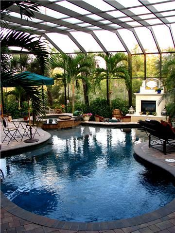 25 best ideas about screened pool on pinterest pool for Pool design jacksonville fl