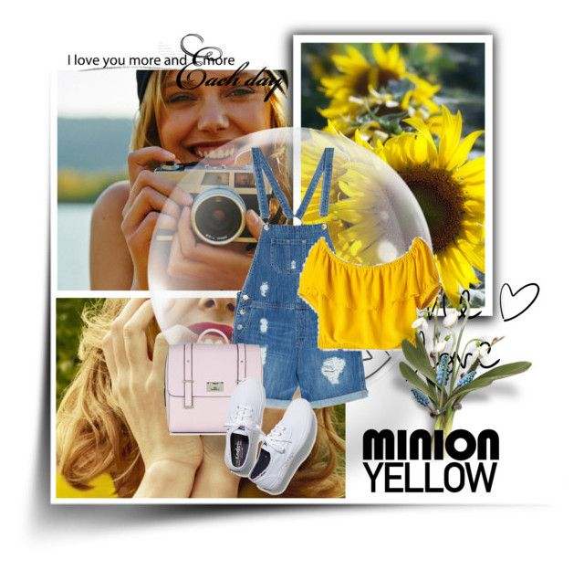 """""""Minion Yellow"""" by blondeshoopaholic on Polyvore"""