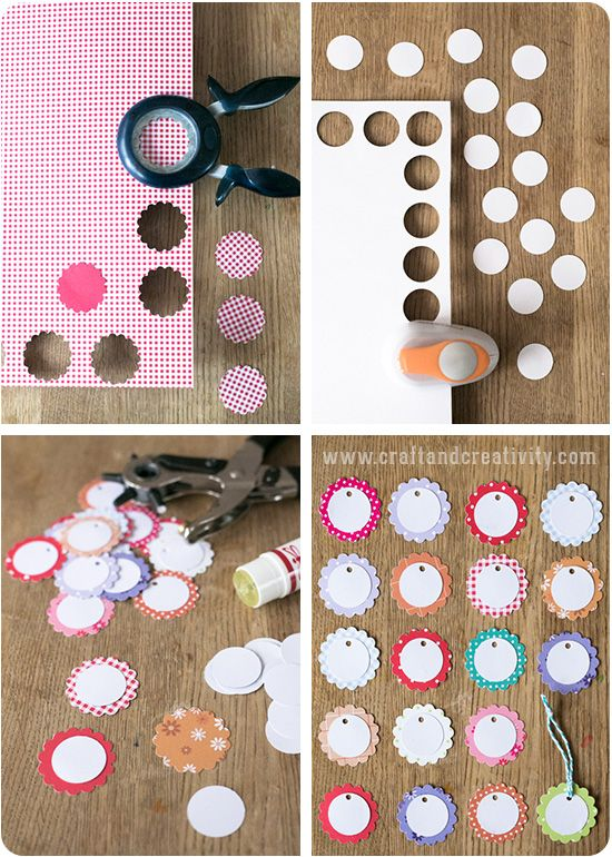 DIY tags - by Craft & Creativity