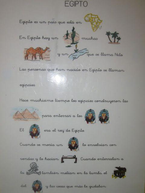 Las cosas que aprendo: EGIPTO