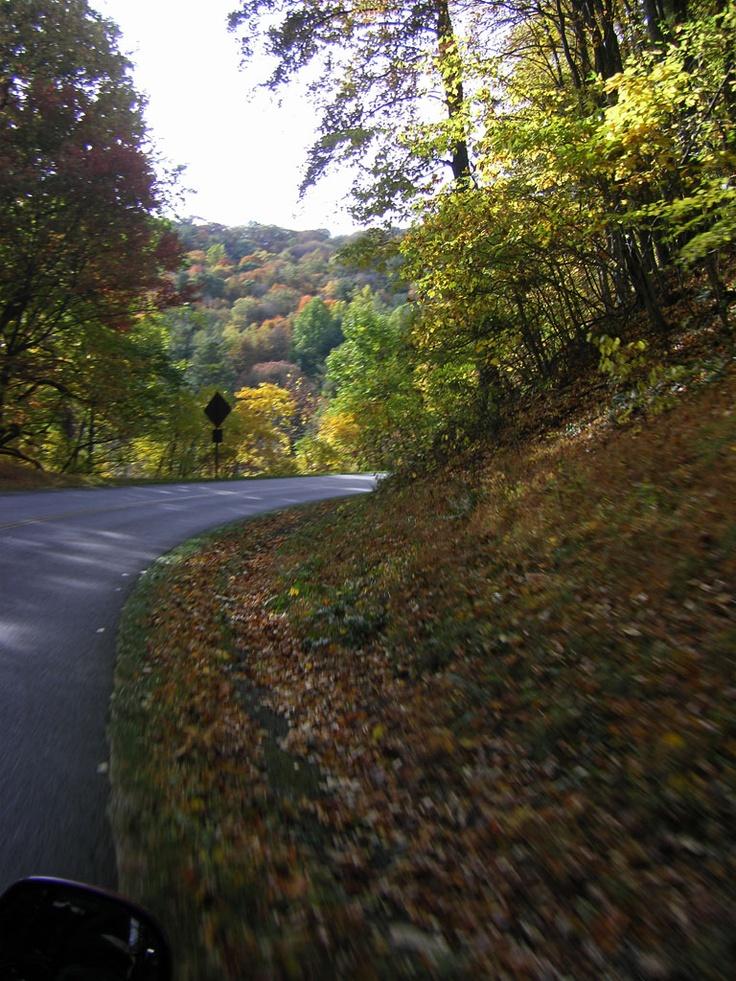 Blue Ridge Parkway. Oct. 2009