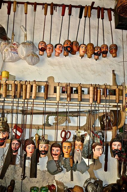 Puppet Workshop.. Palermo, Sicily, Italy