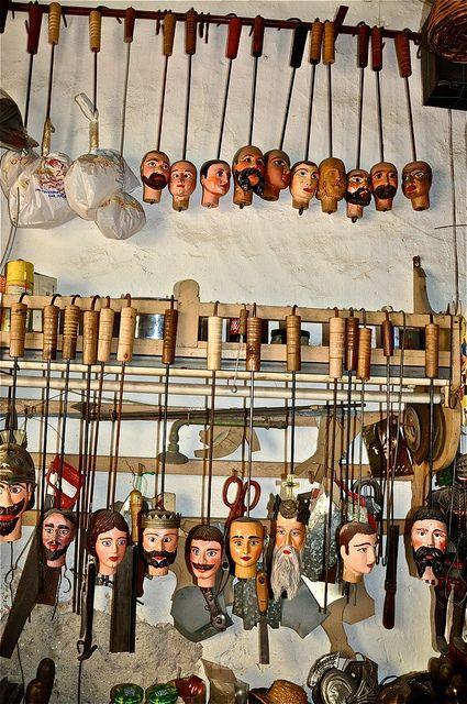 Puppet Workshop in Palermo, Sicily