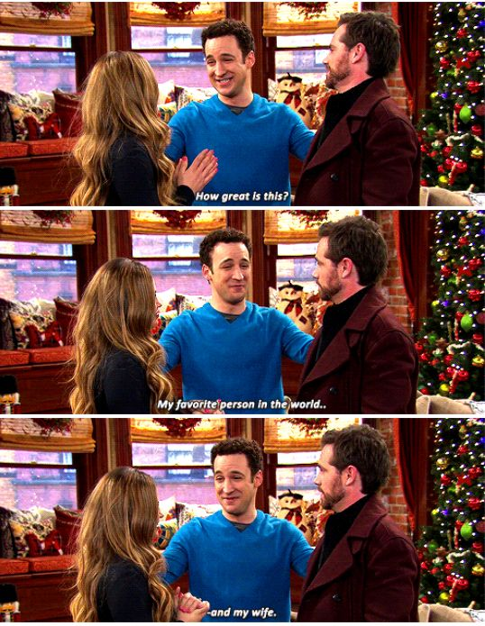 "#GirlMeetsWorld 1x16 ""Girl Meets Home for the Holidays"" - Topanga, Cory and Shawn"