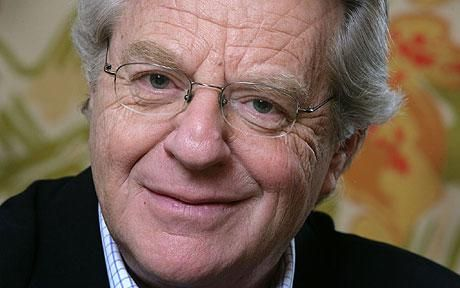 a biography of jerry springer born in london in 1944 It has already spawned a gaudy musical now playing in london, but the life of jerry springer, america's most reviled and most successful sleaze-talk host, may yet hold more surprises imagine, for instance, if he gerald norman springer was born in hampstead on 13 february 1944 his parents, richard.