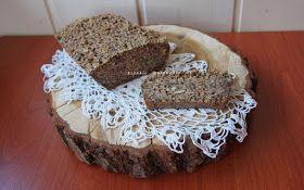 Owsiany chleb bezglutenowy (bez mąki, mleka i jaj).