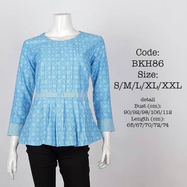 Blus Batik BKH86