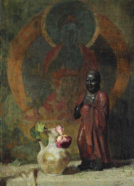 Seeking Beauty - Hovsep Pushman (1877 - 1966)-P.4