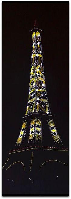 Eiffel Tower, Paris, with Citron Advertisement, 1925