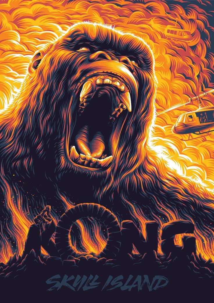 Kong: Skull Island Poster - Created by Aleksey Rico